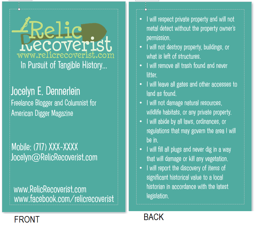 Racking up Permissions - Relic Recoverist